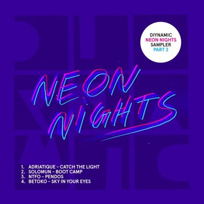 Cover DIY064 - Diynamic Neon Nights